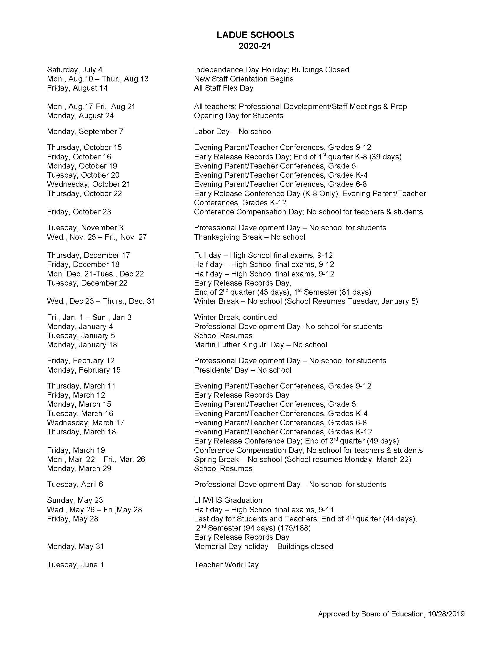 Ladue-2020-2021-school-calendar-notes